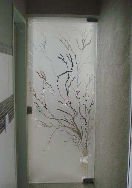 porta com desenho