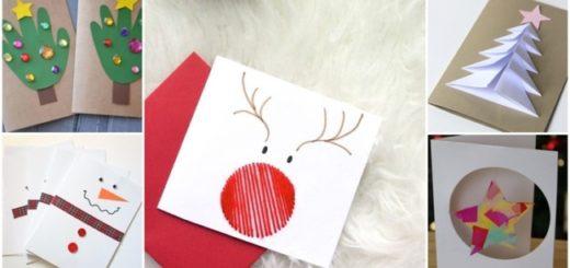 ideias para cartao de natal