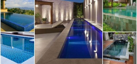 0 modelos de borda de piscina
