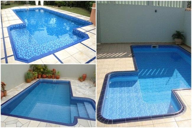 modelos de bordas para piscina de vinil