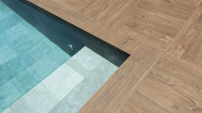 borda de porcelanato para piscina