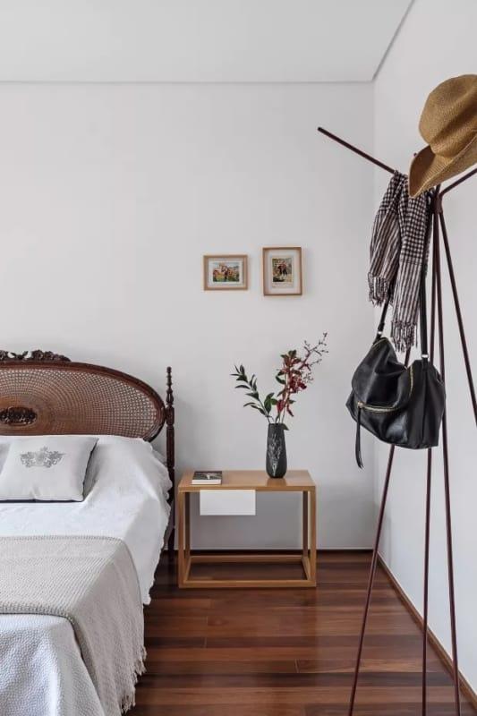 cama de madeira na decoração