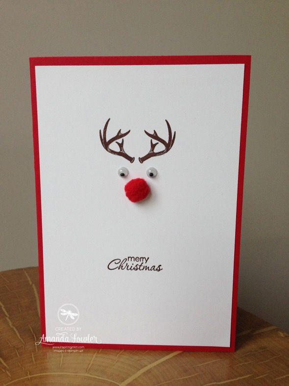 cartão criativo feito artesanalmente