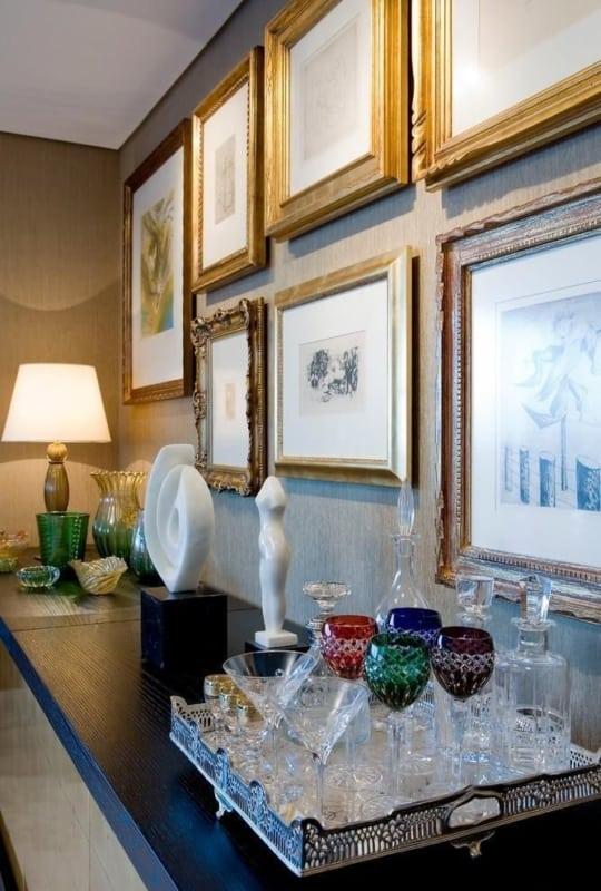 decoração de luxo com quadros