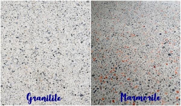 diferença entre granilite e marmorite