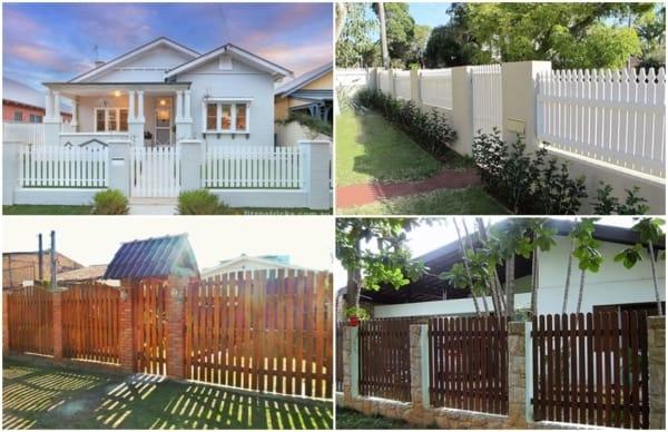 modelos de cerca para residências