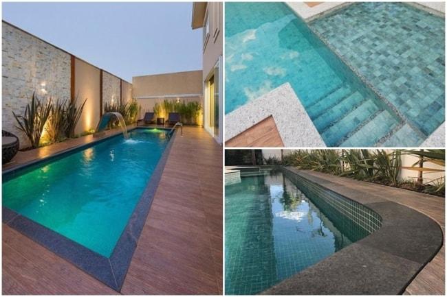 bordas de granito para piscina