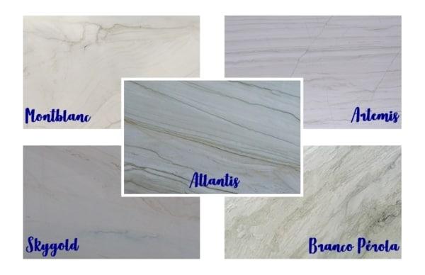 quartzitos brancos