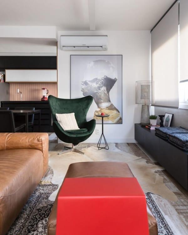 quadro grande para sala moderna