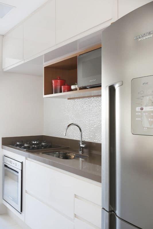 azulejo 3d na cozinha