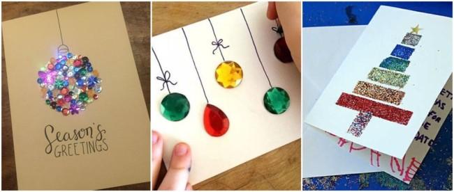cartão natalino artesanal