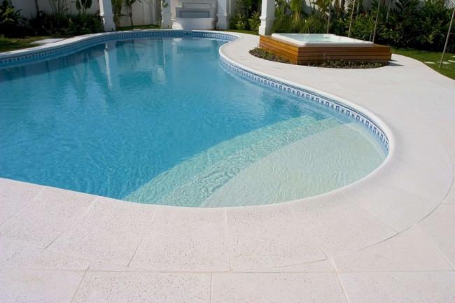 borda atérmica para piscina