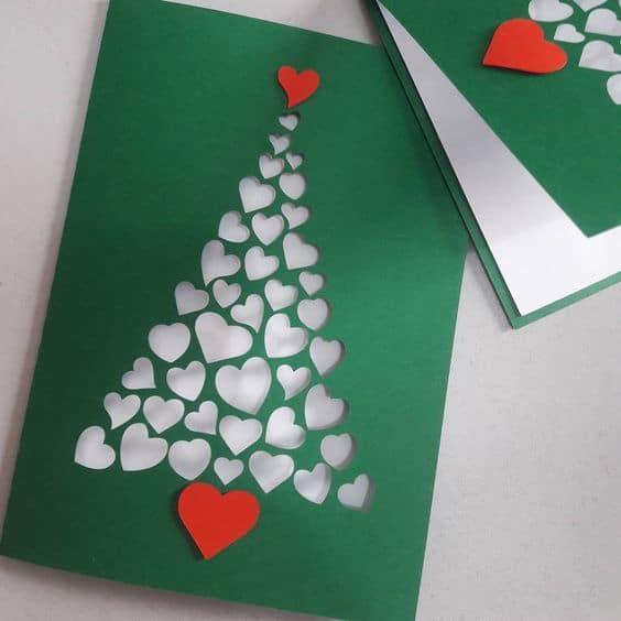 cartão natalino para namorado