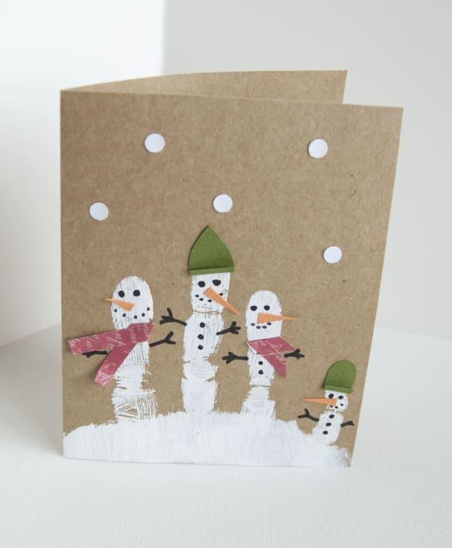cartão natalino para atividade infantil