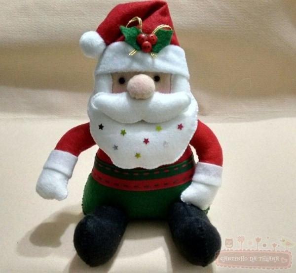papai noel para decoração natalina