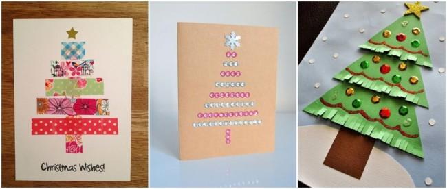 cartão natalino simples