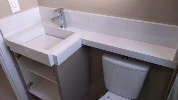 pia para banheiro pequeno