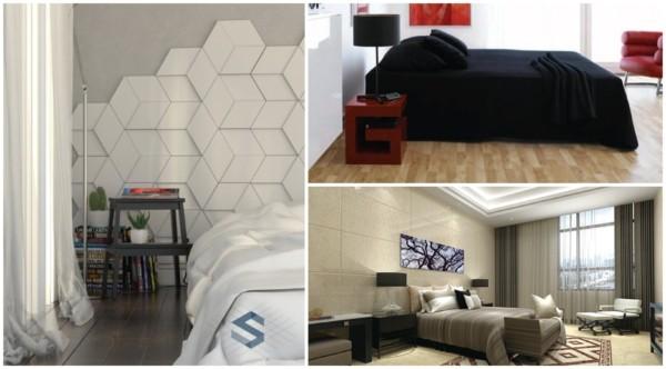 Cerâmicas diferentes para quartos