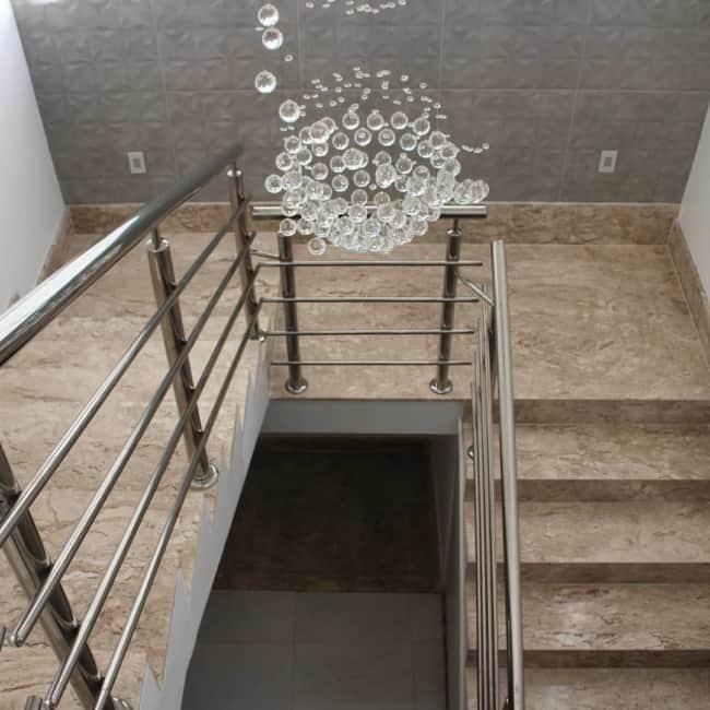 Escada de bege bahia em U