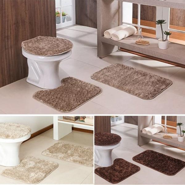 Ideias de composição do banheiro com a cor pérola