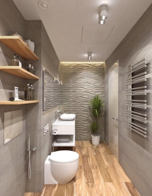 Luminária para lavabo neutro