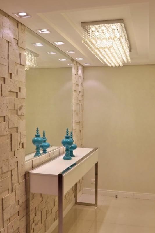 Mosaico de mármore travertino para parede