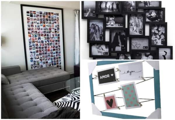 Quadros com fotos para decorar ambientes