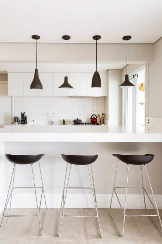Banquetas para cozinha para cozinha minimalista