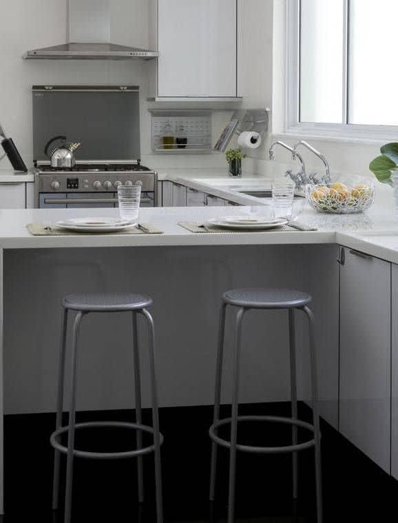banquetas para cozinha alumínio