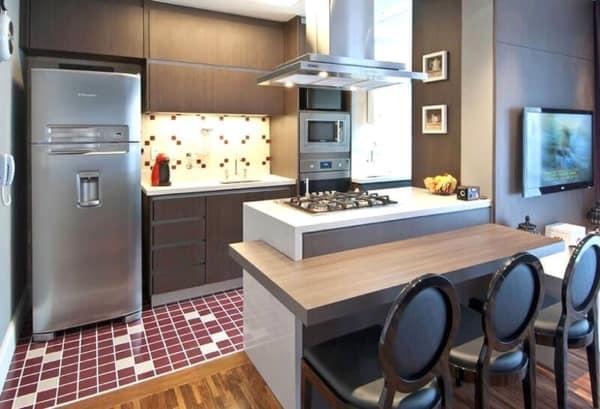 banquetas para cozinha elegantes