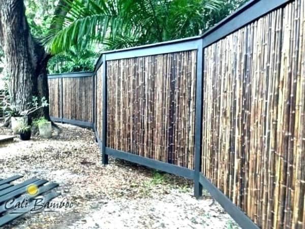 cerca de bambu para varanda