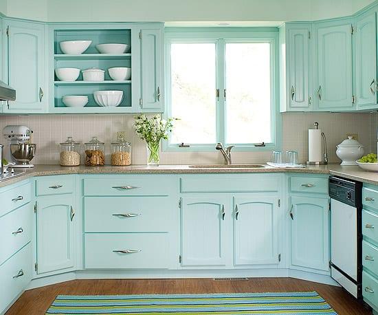 cozinha verde claro 24