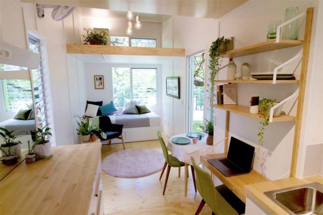 foto de mini casa por dentro