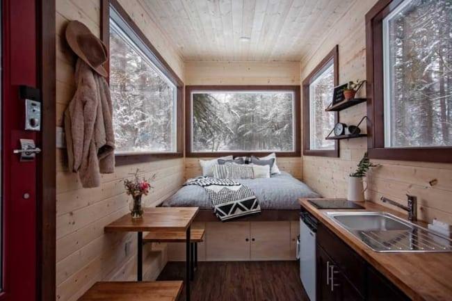 linda mini casa por dentro