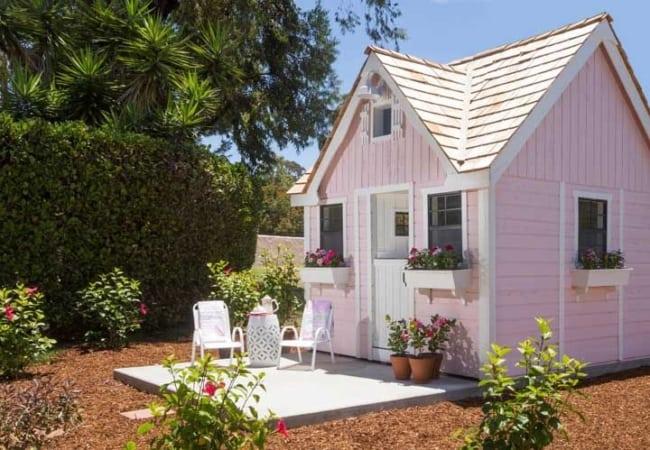mini casa de madeira linda
