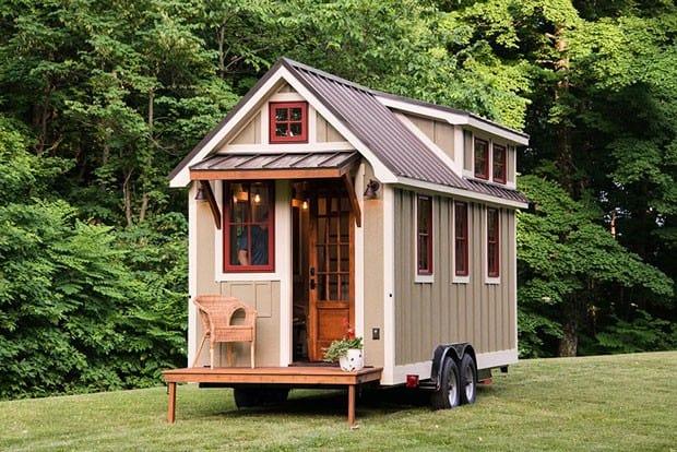 mini casa sobre rodas