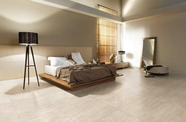 porcelanato branco para quarto grande