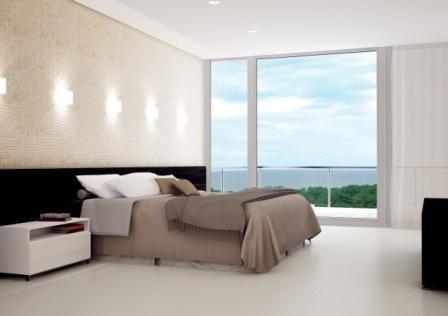 porcelanato branco para quarto pequeno