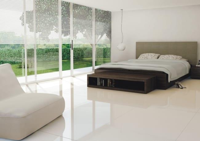 porcelanato branco para quarto