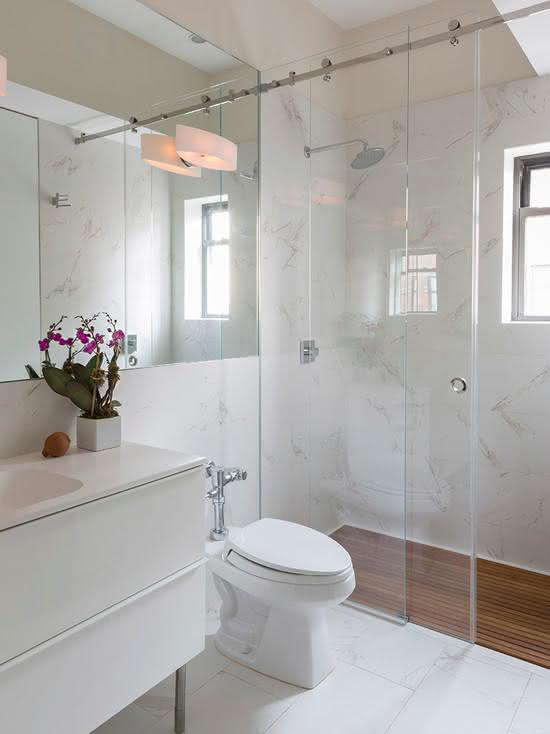 porcelanato polido para banheiro