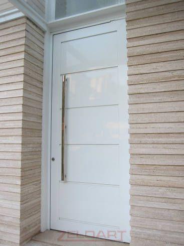 porta de entrada de alumínio