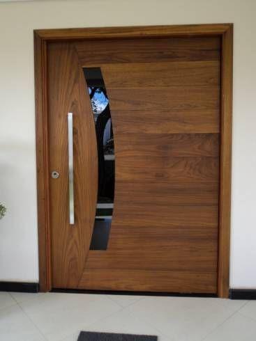 porta de madeira para sala grande