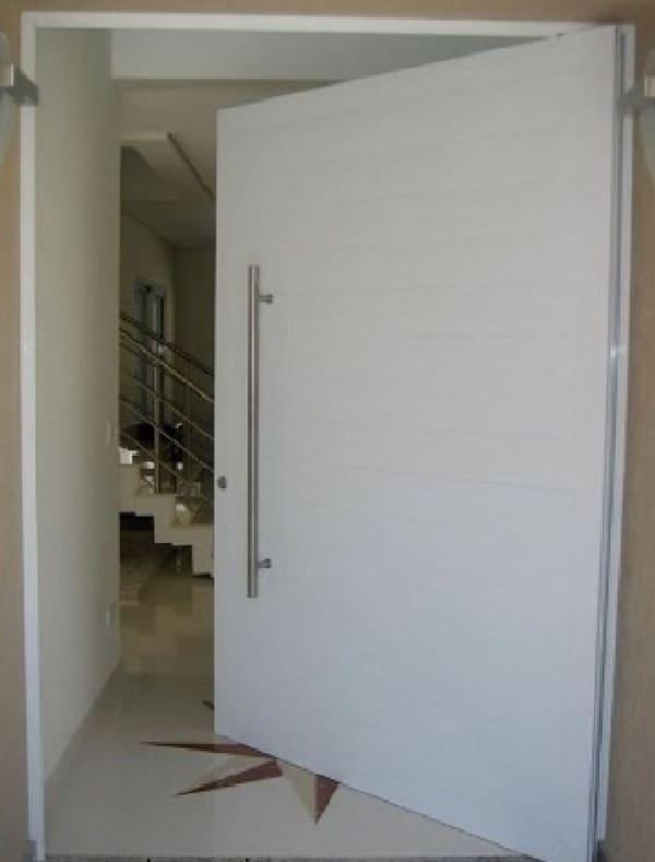 porta grande de alumínio para sala