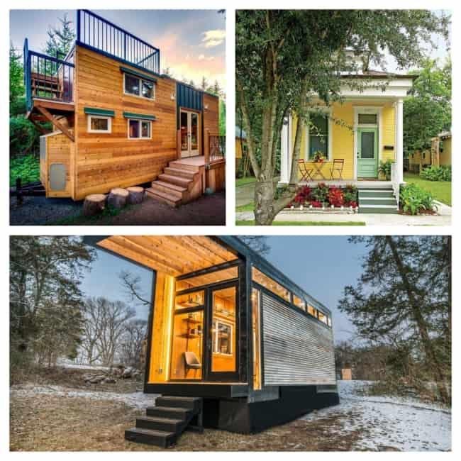 tipos de mini casa de madeira