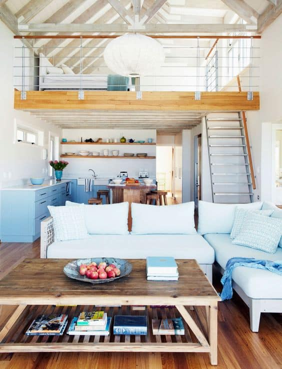 decoração sala integrada com cozinha