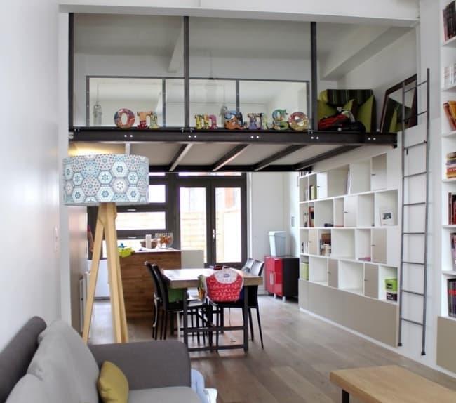 decoração de apartamento pequeno com móveis planejados