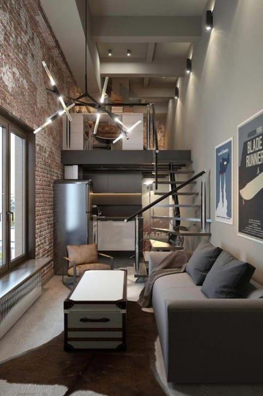 decoração masculina para apartamento pequeno
