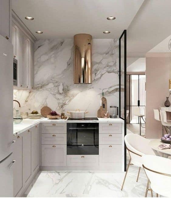 cozinha moderna com coifa