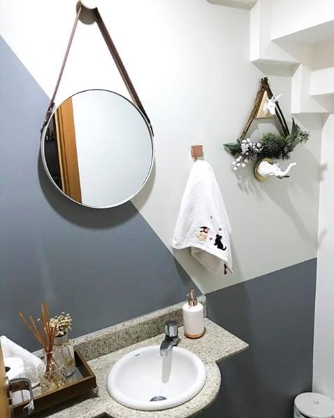 decoração lavabo moderno