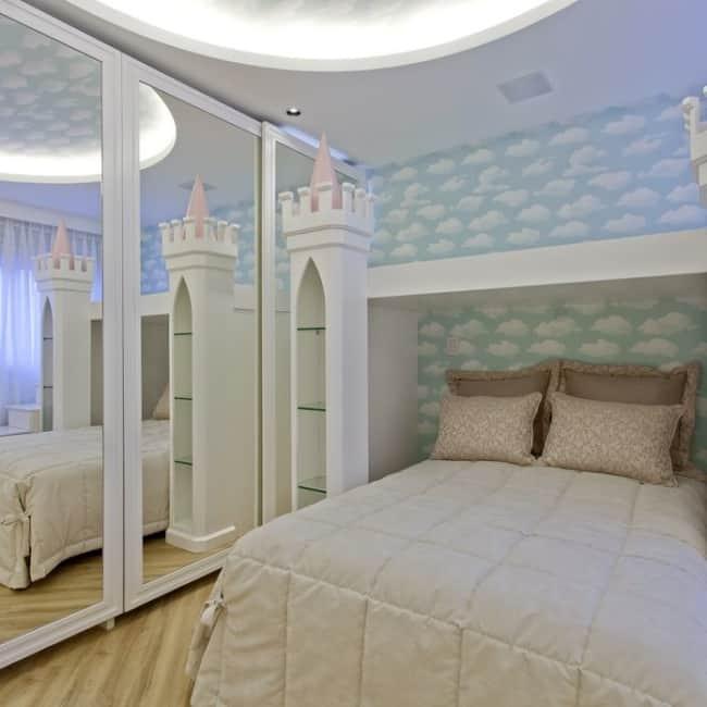 quarto com decoração de princesa